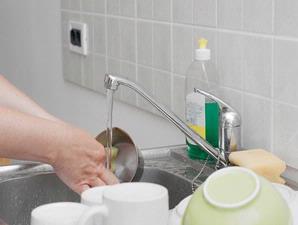 bersih dapur