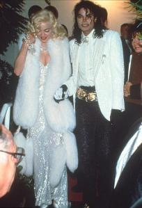 MJ with Madonna