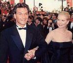 Swayze dan istrinya Lisa Niemi