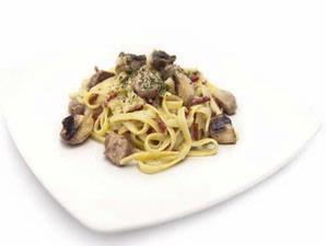 Duck and Mushroom Pasta