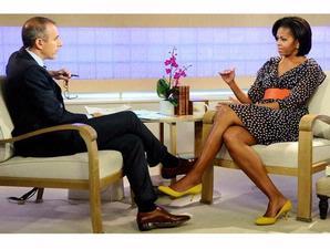 Gaun H&M Michelle Obama