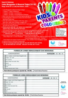 Kids & Parents Colouring 2011