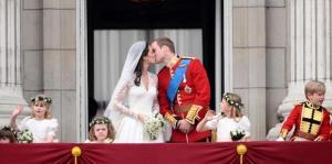 The Kiss of Royal Wedding